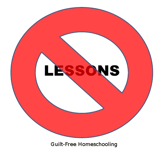 A Day Without Lessons Guilt Free Homeschooling : NO Lessons from guiltfreehomeschooling.org size 567 x 519 jpeg 65kB