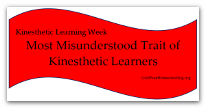 Most Misunderstood Trait Kinesthetic
