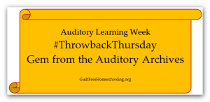 #ThrowbackThursday Gem from Auditory Archives