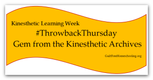 #ThrowbackThursday Gem from Kinesthetic Archives