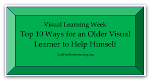 Top 10 Ways Older Visual Learner Help Himself